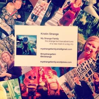 Contact My Strange Family