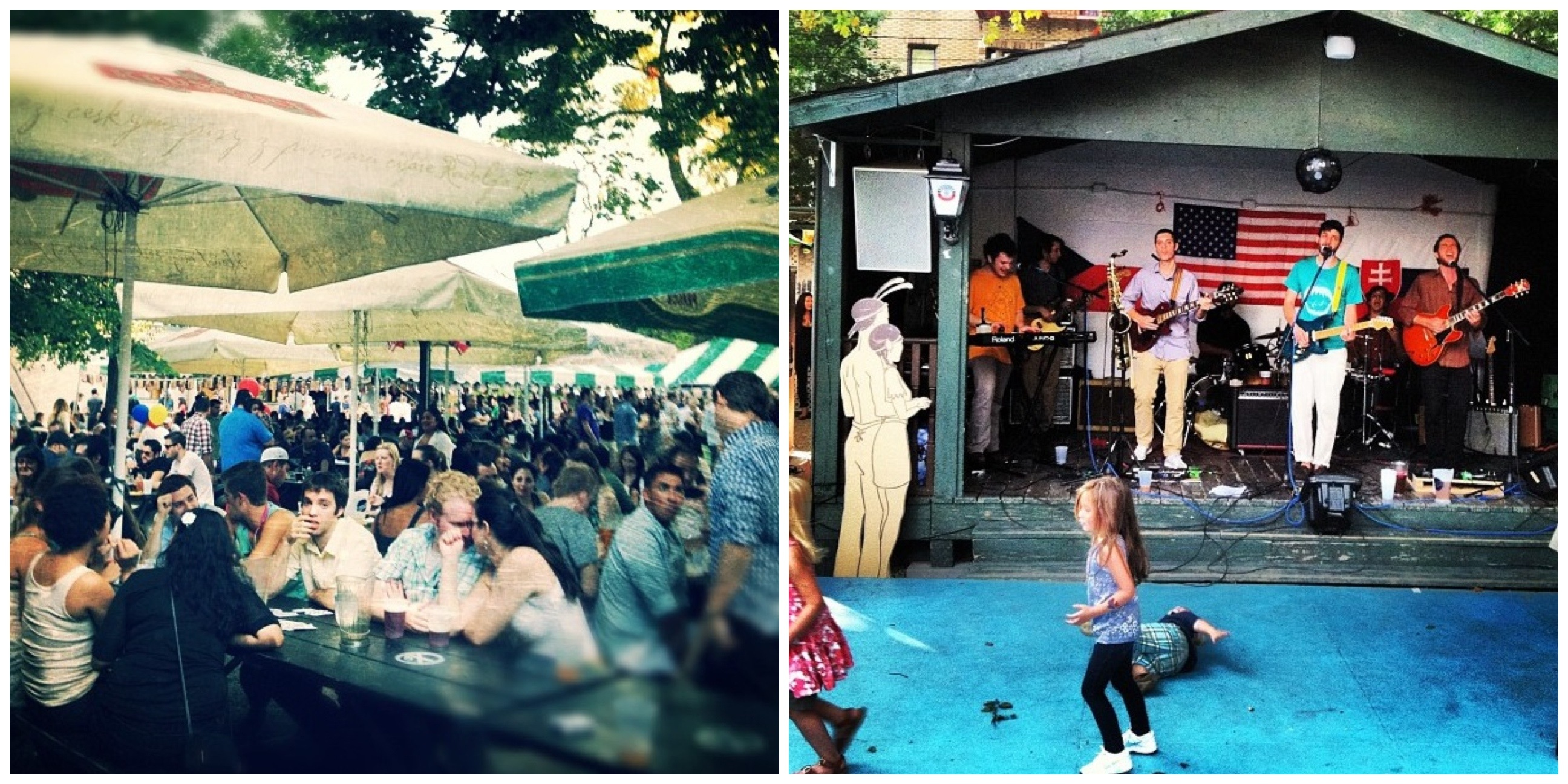 besides live music on most saturdays the bohemian hall and beer garden - Bohemian Beer Garden
