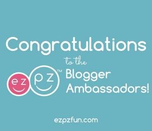 EZPZ Blogger Ambassador