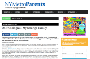 NY Metro Parents Blog Review