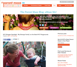 parentmaze blogger spotlight