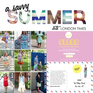 Savvy Summer London Times