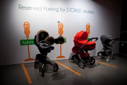 Stokke Double Stroller