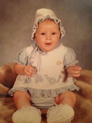 Baby Photo Circa 1981