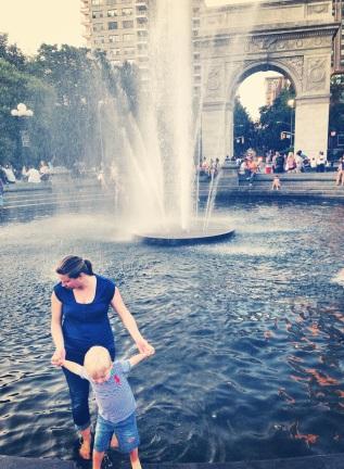 Washington Square Park Fountain