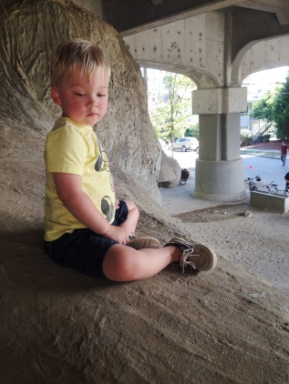 On top of the Fremont Troll