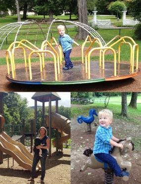 Stockbridge Playground Berkshires