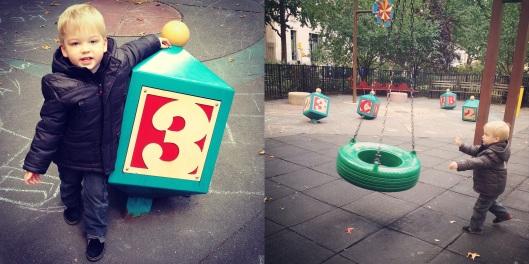 Tire Swing Age 3