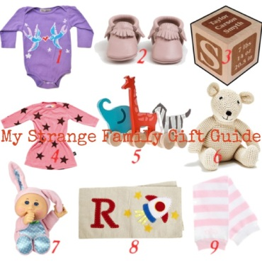 My Strange Family First Christmas Holiday Gift Guide