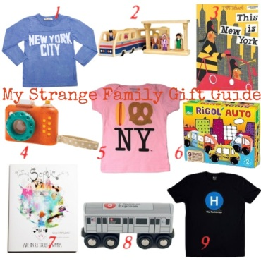 My Strange Family NYC Holiday Gift Guide