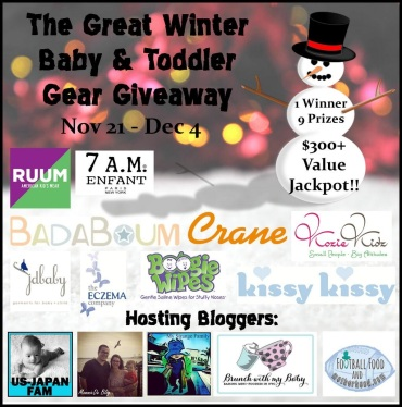 The Great Winter Baby & Toddler Gear Giveaway