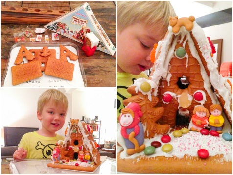 Gingerbread House kit Trader Joes