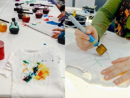 Hiho Batik Shirt making