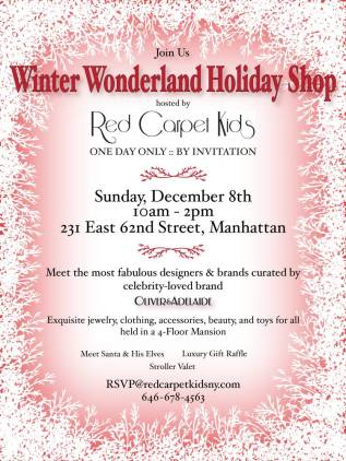 Winter Wonderland Holiday Shop NYC