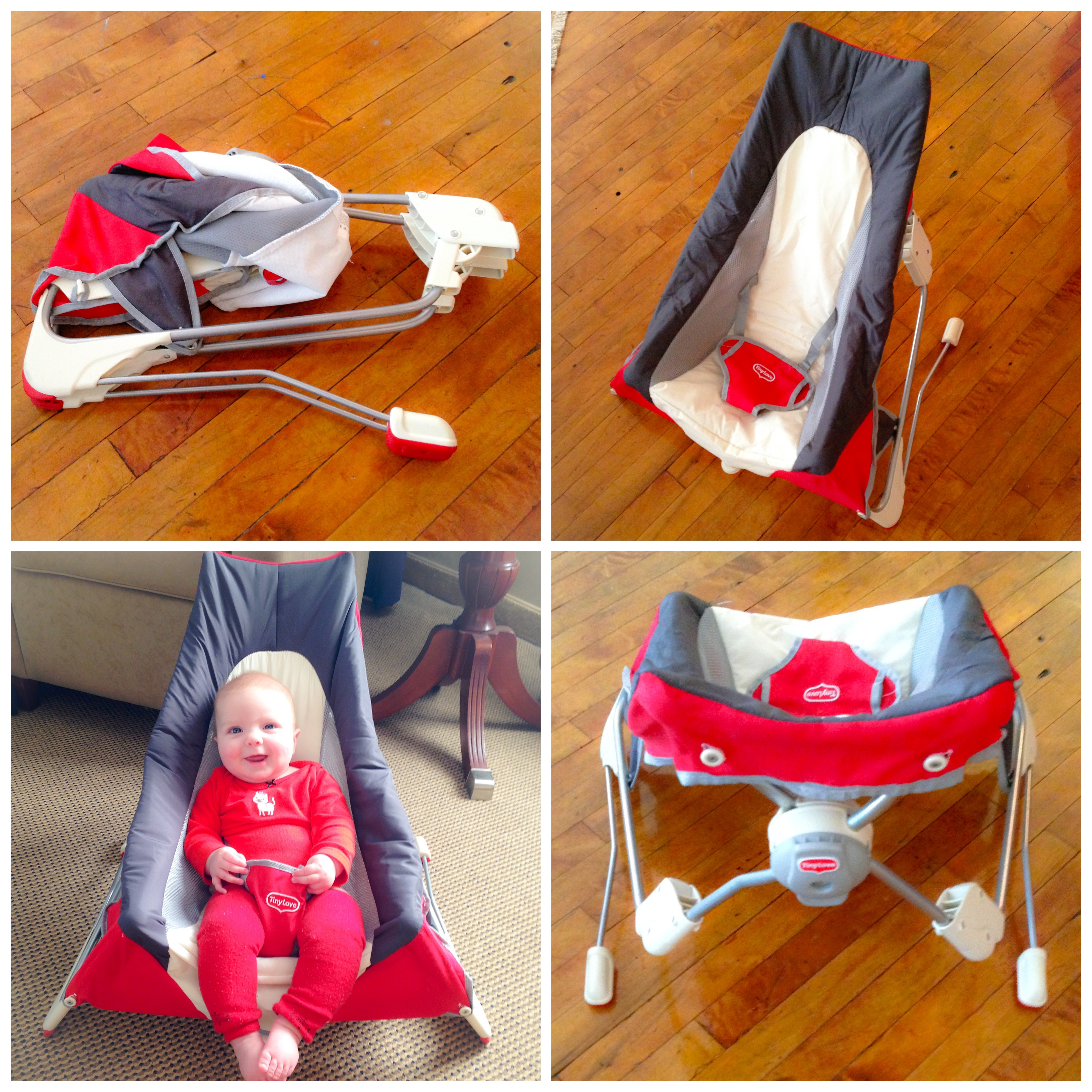3995be63b9d7 Traveling baby  Tiny Love Take-Along Bouncer