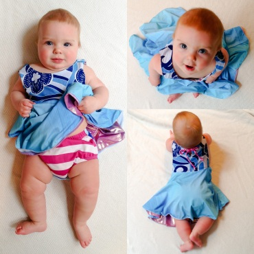 Twirly Baby dress Fairy Magical Wishes
