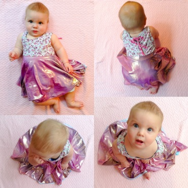 Twirly Girl Baby Dress