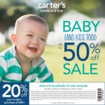 Carter's Spring Coupon