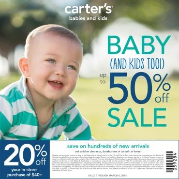 Carter's Spring Coupon
