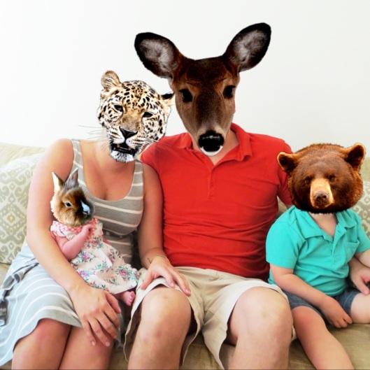 Animal Face Strange Family
