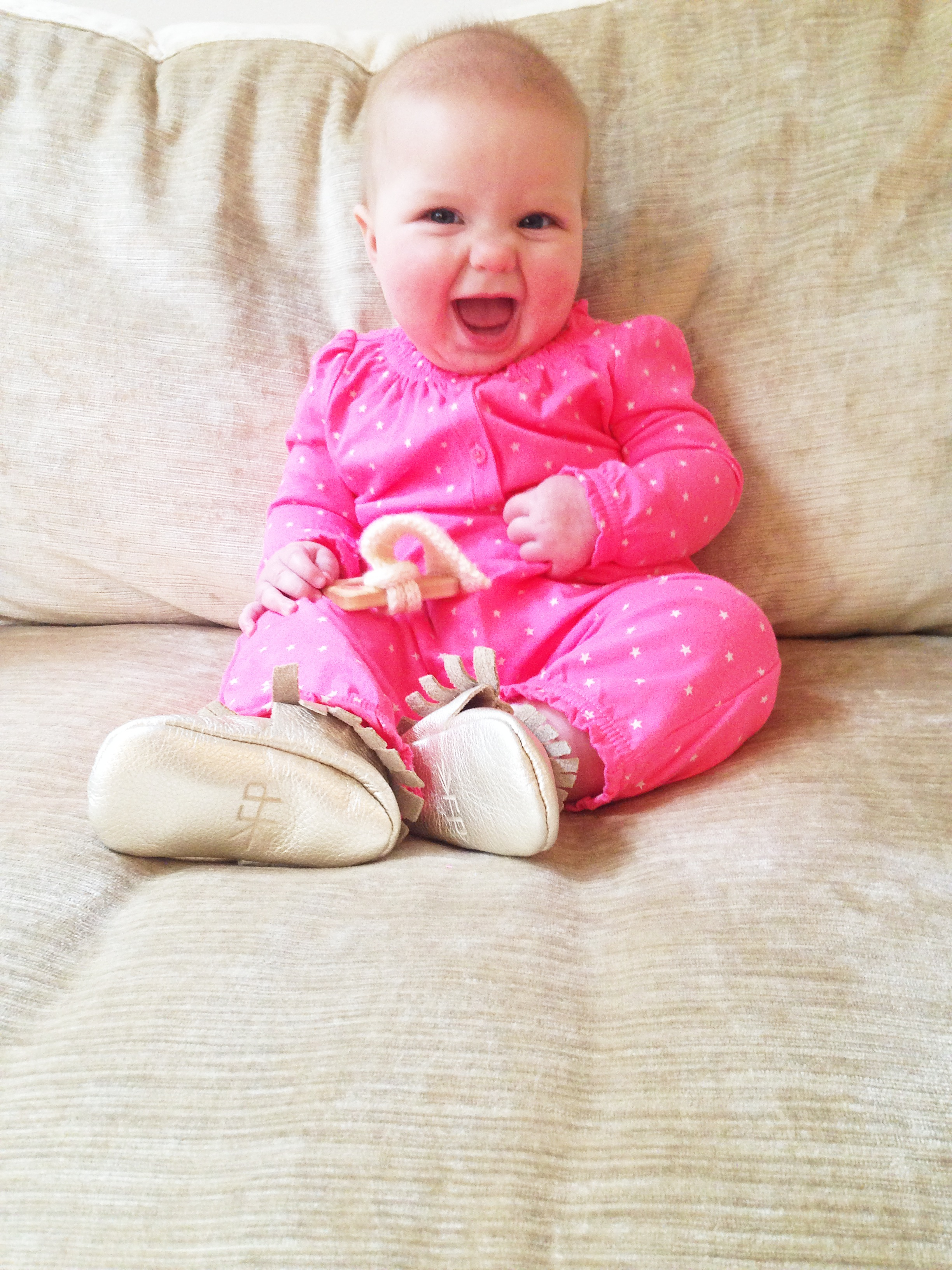 Lucky Love Baby Moccasins
