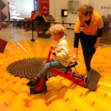 Square-Wheeled Trike