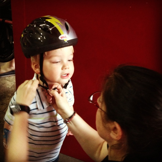 Safe Kids Day NYC helmet