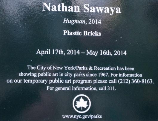 Nathan Sawaya NYC Park