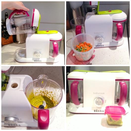 Beaba Babycook Pro 2X homemade baby food