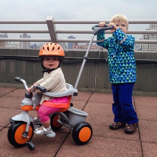 Joovy push bike for baby