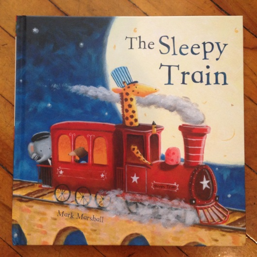 The sleepy Train picture book