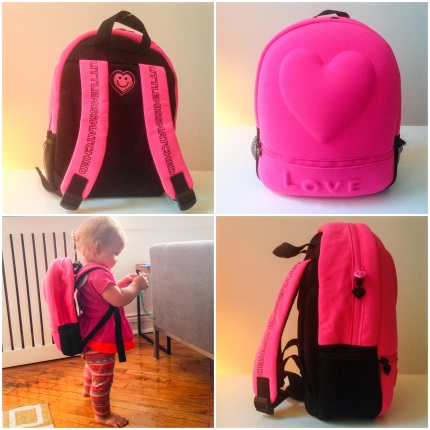 littlemissmatched mini backpack