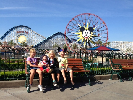 Cousins at Disneyland