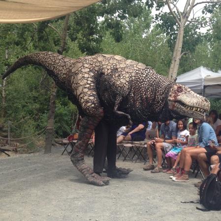 Field Station Dinosaur TRex puppet