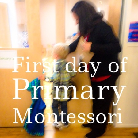 First Day of Montessori