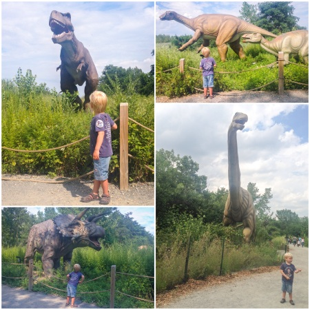 Life size dinosaurs NYC