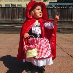 Little Girl Red Riding Hood Costume