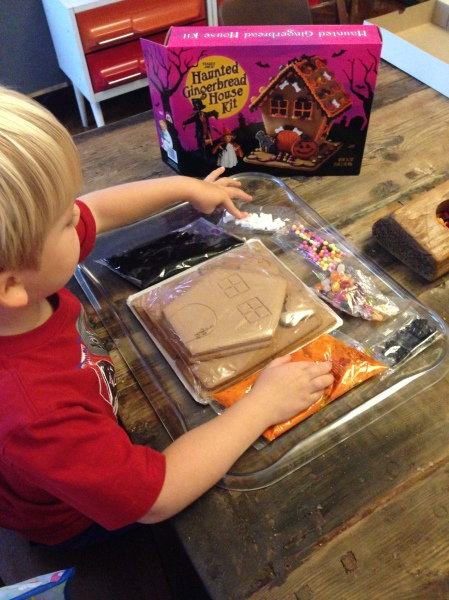 Gingerbread kit includes everything