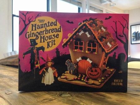 Trader Joe's Haunted Gingerbread House Kit
