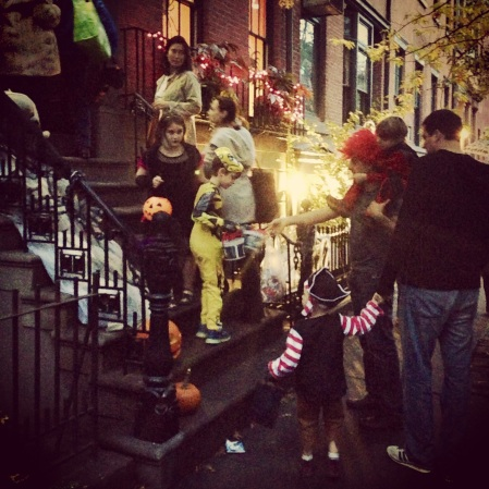 trick-or-treating in NYC