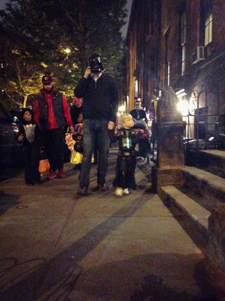 trick-or-treating NYC