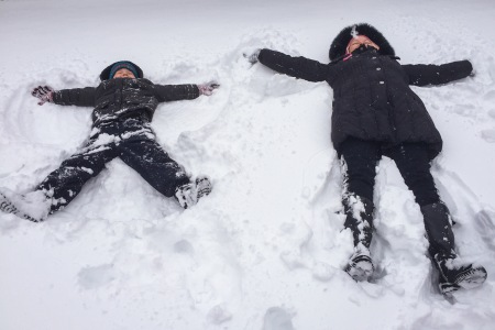 My Strange Snow Angels