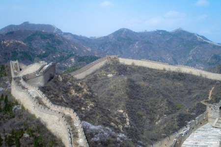 Shuiguan Great Wall China