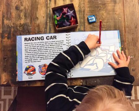 DisneySide CARS tracing