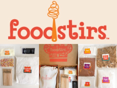 Foodstirs kids cooking kit
