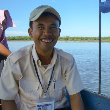 Kim Cambodian tour guide
