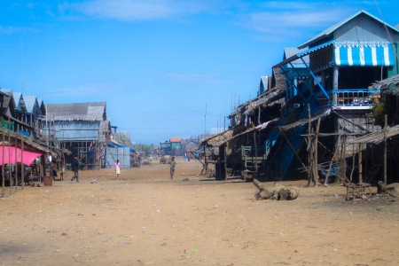 Main Street Floating Village Cambodia