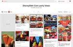 Pinterest DisneySide CARS