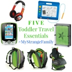 Five Toddler Travel Essentials