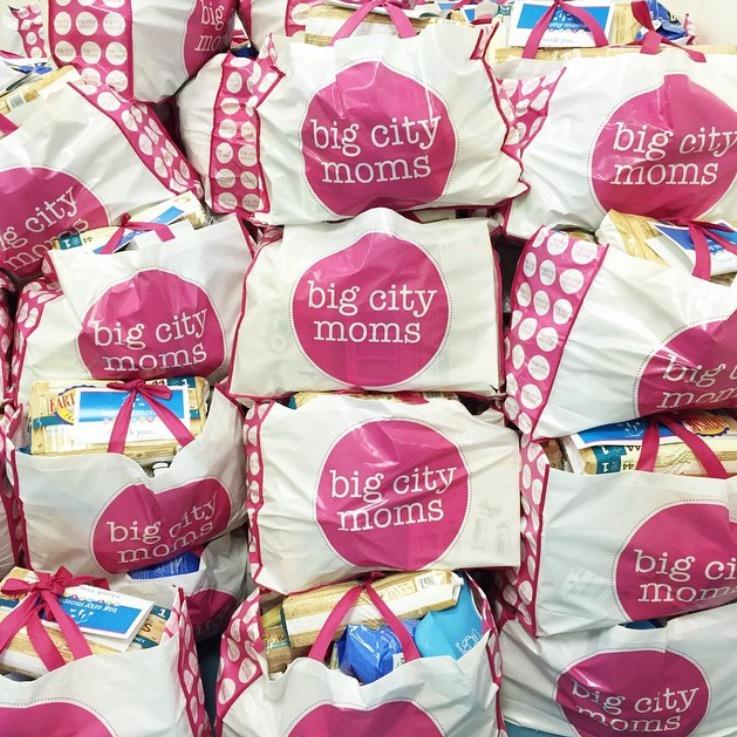 Big City Moms Swag Bag